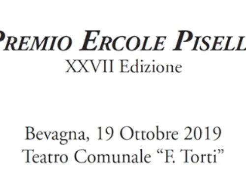Premio Ercole Pisello per il nostro Segretario Generale Marco Bobbio